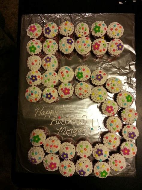 birthday cupcake cakes cake boy party 5th cupcakes years bday boys olds recipes winter birthdays cones pixels ak0 5year th