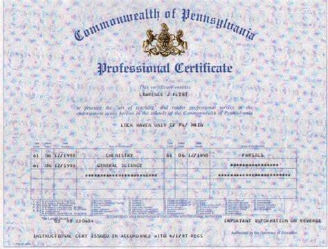 bureau of educator certification image pennsylvania teaching certificate