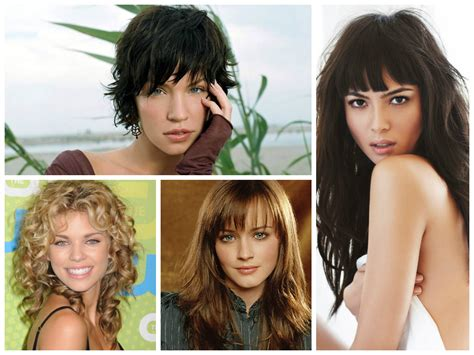 The Best Bang Hairstyles for Oval face shapes Women