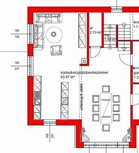 Wohn Und Esszimmer Optisch Trennen : anordnung wz k essz in l form gerade bauforum auf ~ Markanthonyermac.com Haus und Dekorationen