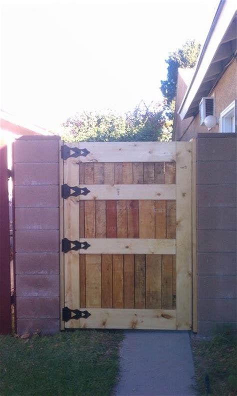 gates made of wood 12 diy wooden pallet gate design ideas pallets designs