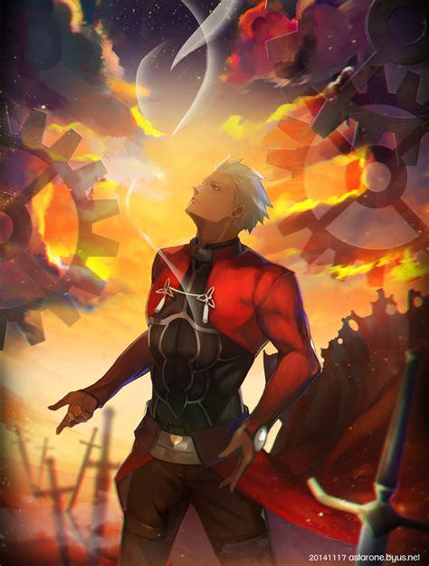archer fatestay night mobile wallpaper