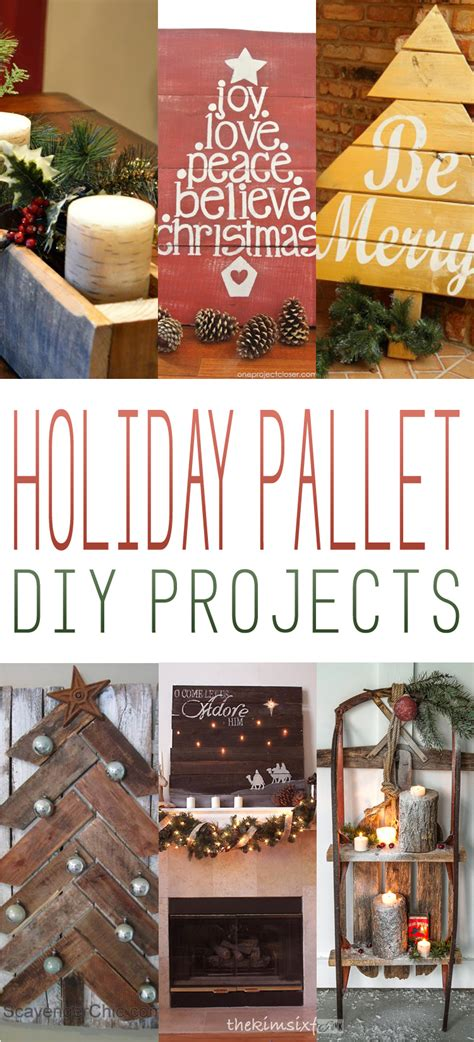 holiday pallet diy projects  cottage market