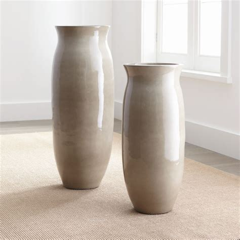 hewett ceramic floor vases crate  barrel