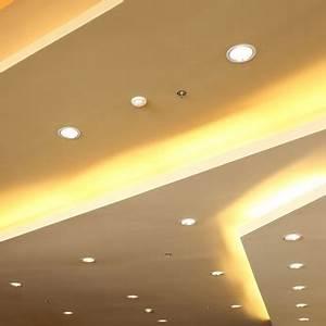 Spot Led Encastrable Plafond Faible Hauteur : r cup rer de la hauteur sous plafond avec un clairage ~ Melissatoandfro.com Idées de Décoration
