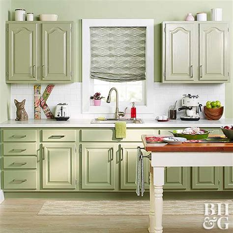 kitchen cabinet faces painting kitchen cabinets better homes gardens 2497