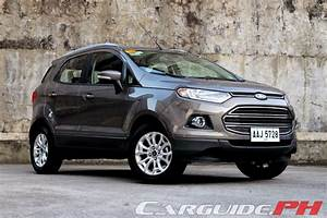 Ford Ecosport Titanium : review 2014 ford ecosport 1 5 titanium philippine car news car reviews automotive features ~ Medecine-chirurgie-esthetiques.com Avis de Voitures