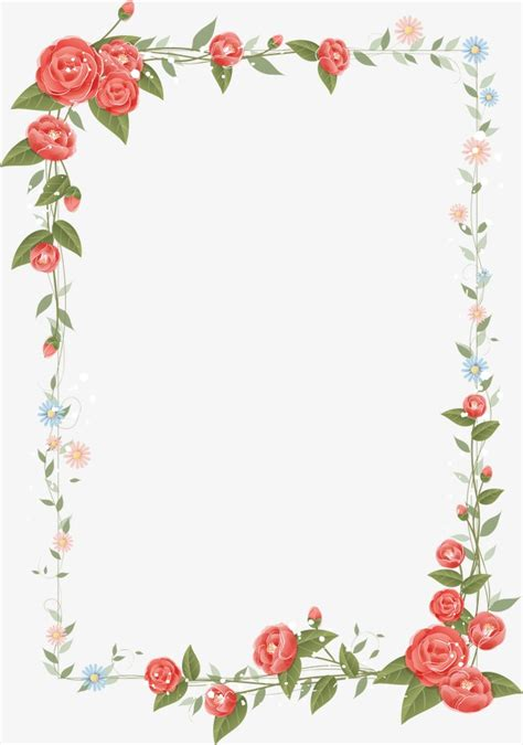 flowers borders designs floral border design vector graphic design frame flowers and png image and clipart for free