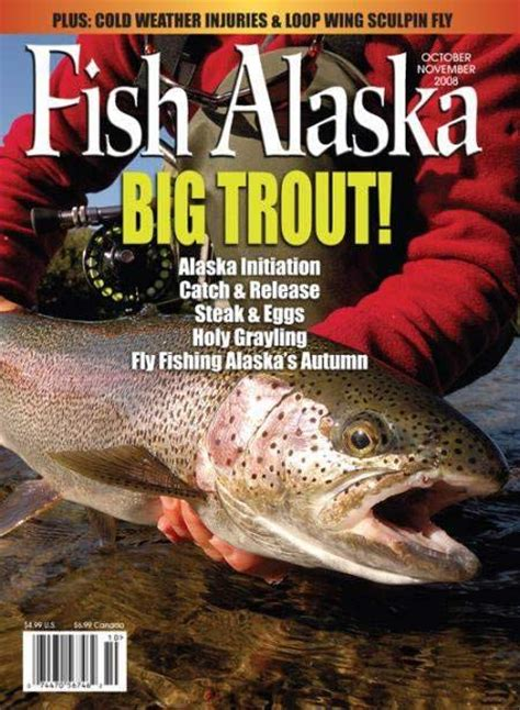 magazine fish fishing magazines alaska fly sportsman salt water wolf featured