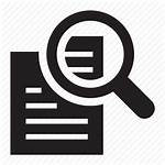 Icons Transparent Icon Document Documents Steps Magnify