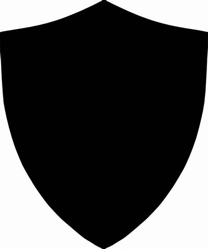 Shield Clipart Silhouettes Clip Clipartmag Background Shapes