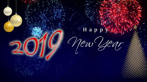Animated New Year Wallpaper - happy new year 2019 wallpapers wallpaper cave