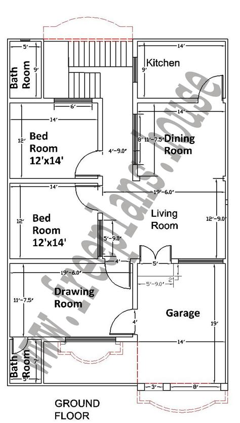 house plans 35 55 178 square meters house plan