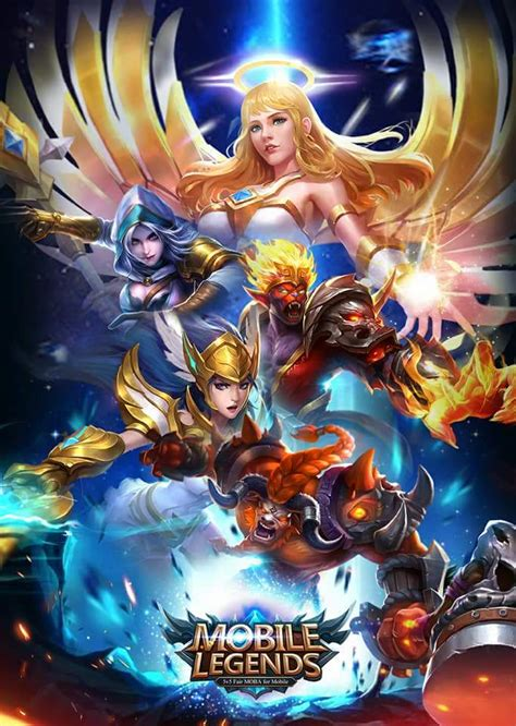 wallpaper mobile legends keren  smartphone
