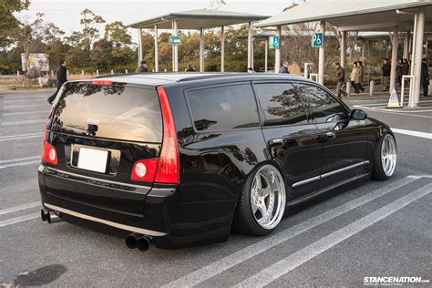 stanced nissan random sighting nissan stagea x japan stancenation