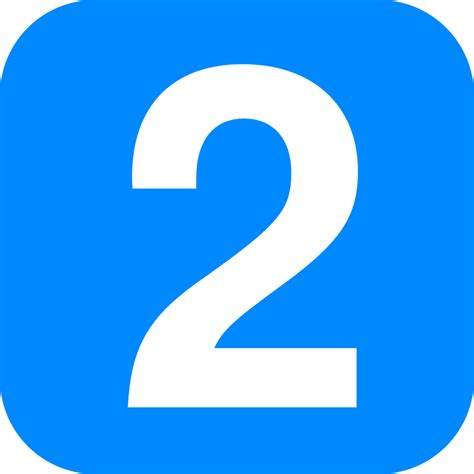 Pliknumber 2 In Light Blue Rounded Squaresvg Wikipedia