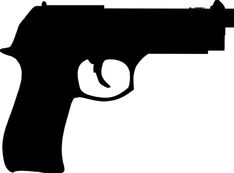 Pistol Clipart Gun Clip At Clker Vector Clip