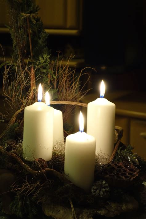 picture candlelight christmas relaxation wax