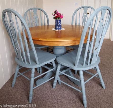 farmhouse style round dining table shabby chic country farmhouse style round dining table 4