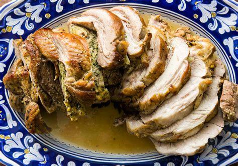 braised stuffed pork shoulder recipe simplyrecipescom