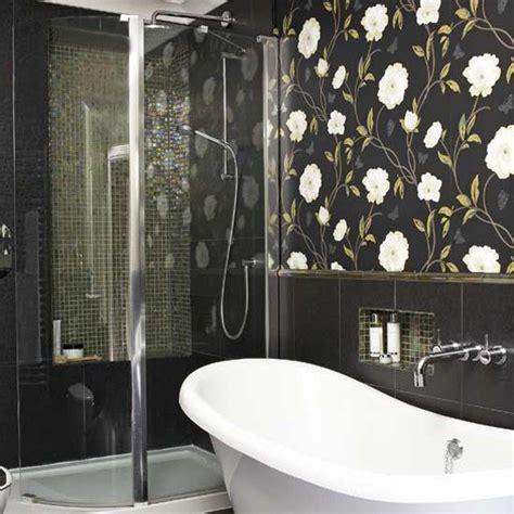 wallpaper ideas  bathrooms  grasscloth wallpaper