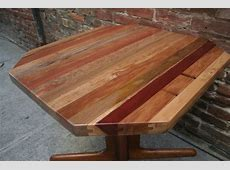 How to Make a Reclaimed Tongue & Groove Table Top All