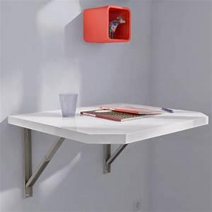 Meuble Avec Table Rabattable : support rabattable cuisine ~ Teatrodelosmanantiales.com Idées de Décoration