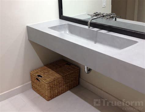 Floating Bathroom Sink by Floating Sink For Commercial Bathroom Trueform Decor