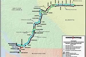 Kinder Morgan Proposed Pipeline Expansion Map