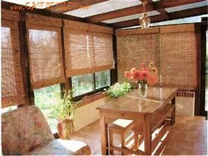 Fabriquer Un Store Enrouleur : store bambou enroulement roman en int rieur rideaux ~ Premium-room.com Idées de Décoration