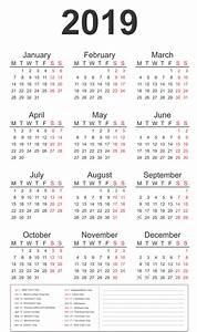 Vacation Schedule Calendar Template Free Printable 2019 Calendar Template Word Part 18
