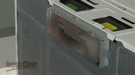 do over the range microwaves have fans ge microwave vent der replacement wb06x10436 youtube