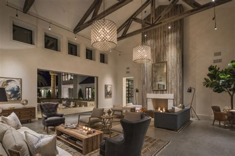 napa  extraordinary modern farmhouse perfect  entertaining  california homedesign