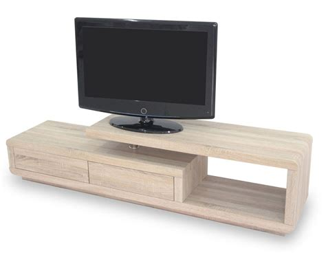 meuble tv chene clair