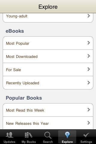 goodreads blog post   goodreads iphone app ereader