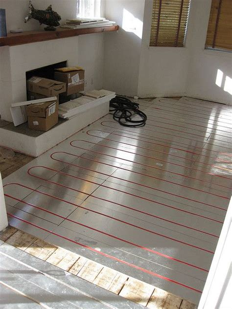 Radiant Floor Heating Bathroom by Install Heated Flooring For Less Than What You D Expect