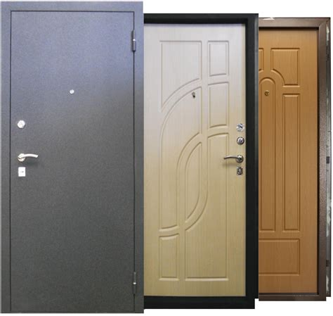 Как правильно выбрать железную дверь?  дизайн интерьера и