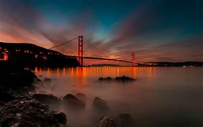 Francisco San Bridge Golden Amazing Taken Desktop