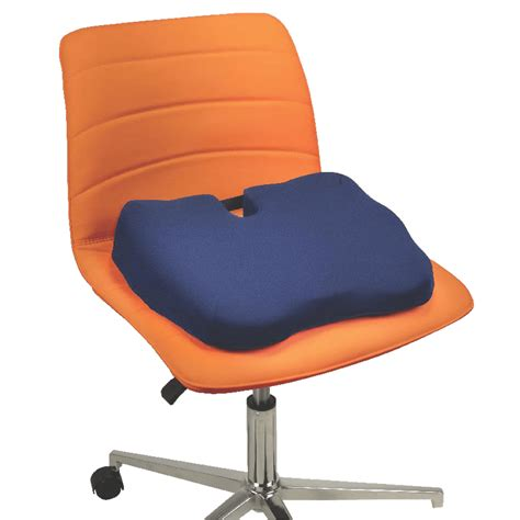 Orthopedic Chair Cushion by Kabooti Orthopedic Coccyx Seat Cushion Contour Living