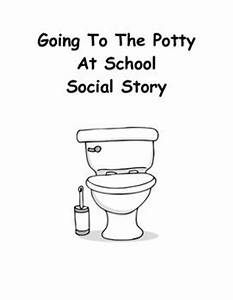 Say please student and the o39jays on pinterest for Using the bathroom social story