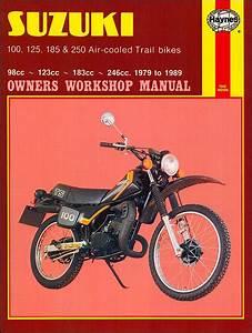 Suzuki Ts100  Ts125  Ts185  Ts250 Repair Manual 1979
