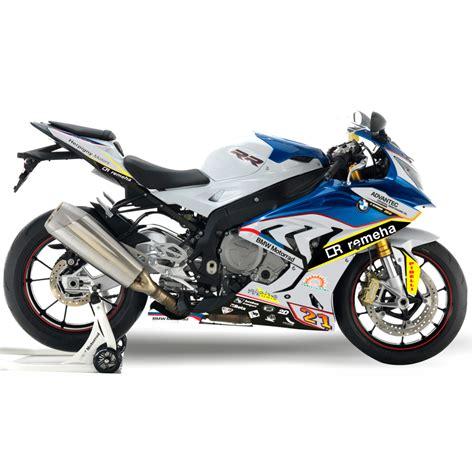 Motorradaufkleber  Bikedekore  Wheelskinzz Bmwreplica