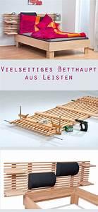 Betthaupt Selber Bauen : die besten 25 bett bauen ideen auf pinterest bett ~ Lizthompson.info Haus und Dekorationen