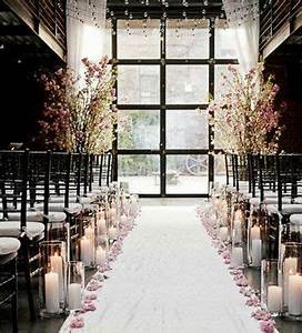 winter wedding ideas candlelit aisle click pic for 25 With winter wedding ideas on a budget