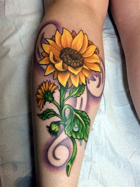 sunflower tattoos designs bafbouf