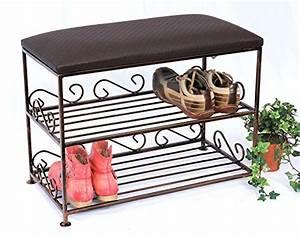 Schuhregal Mit Bank : preisvergleich schuhregal mit sitzbank bank 60cm schuhschrank willbilliger ~ Whattoseeinmadrid.com Haus und Dekorationen