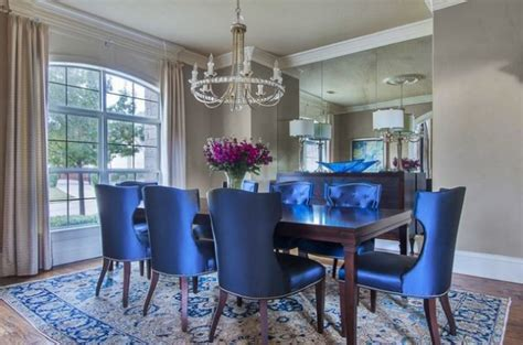 lovely dining rooms  cozy upholstered dining chairs