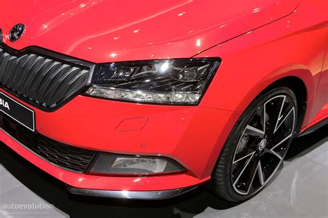 2018 Skoda Fabia Rolls Out Mid-cycle Refresh At Geneva