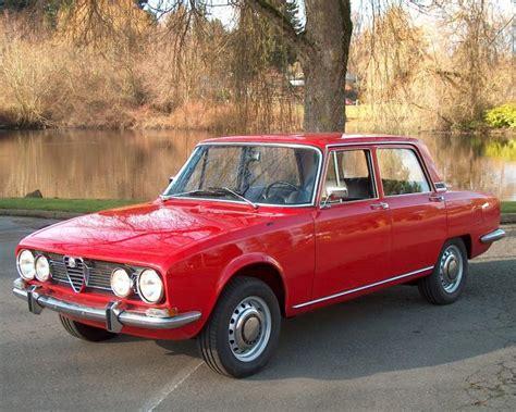Alfa Romeo Berlina For Sale by 1968 Alfa Romeo 1750 Berlina Classic Italian Cars For Sale
