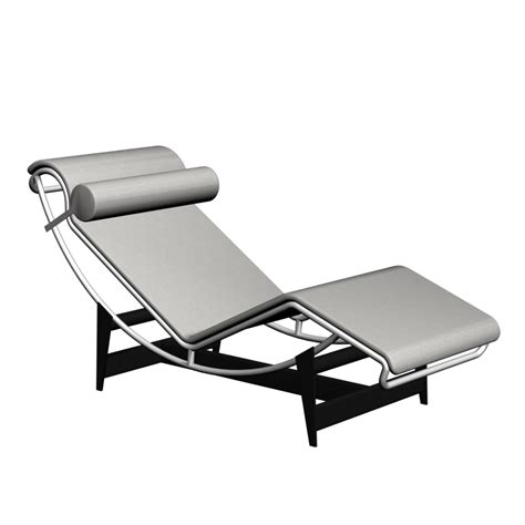 chaise 3 en 1 lc4 chaise longue design and decorate your room in 3d